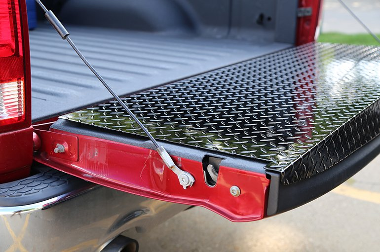 BlackTread Full Tailgate Protector