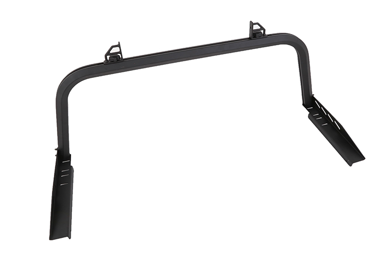 Aluminum Rear Truck Racks - Black
