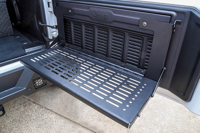 Jeep Rear Door WorkBench