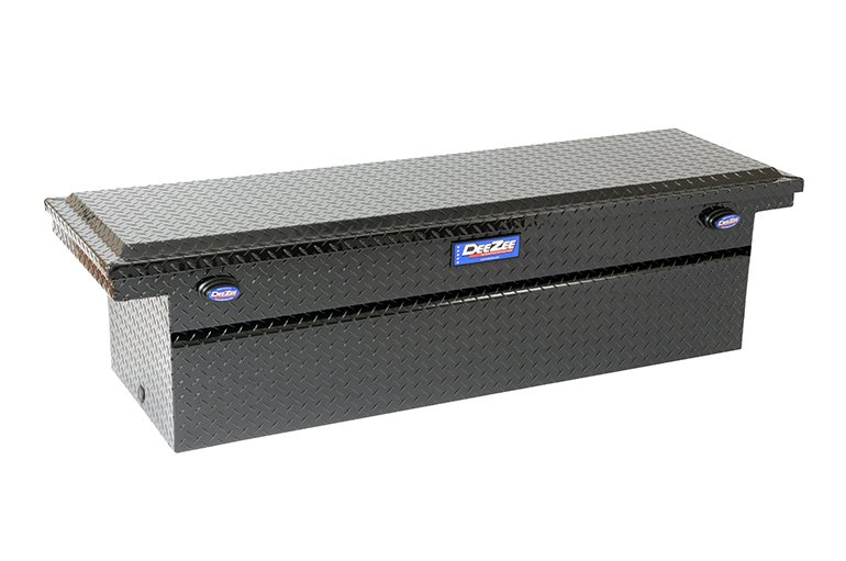 Blue Label Low Profile Crossover Tool Box - Black