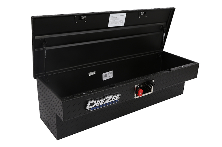 Padlock Side Mount Tool Box - Black