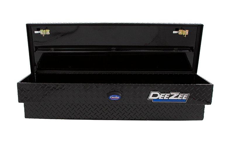 Blue Label Side Mount Tool Box - Black