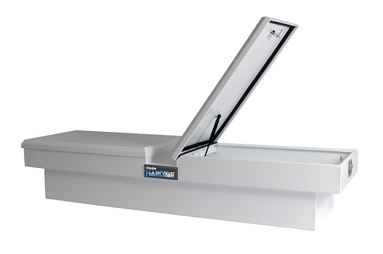 HARDware Series Gull Wing Tool Box - White Steel