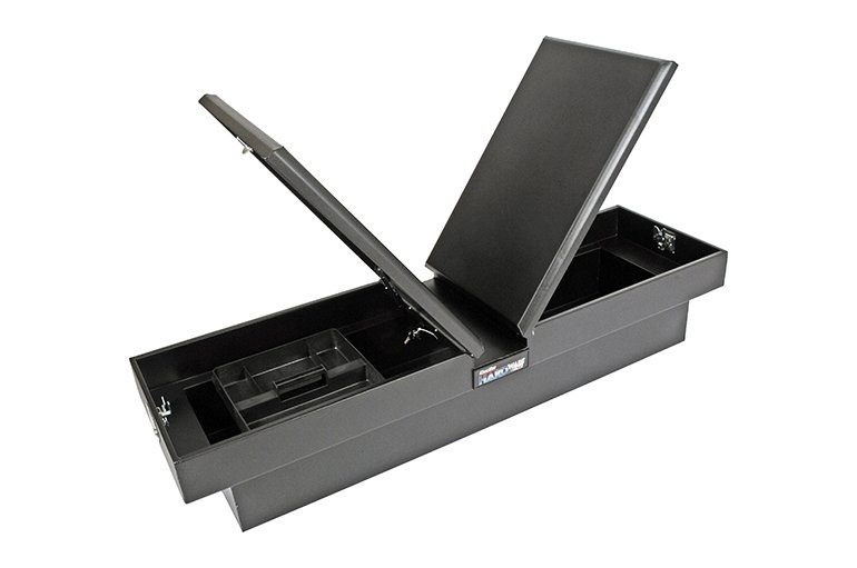HARDware Series Gull Wing Tool Box - Black Steel