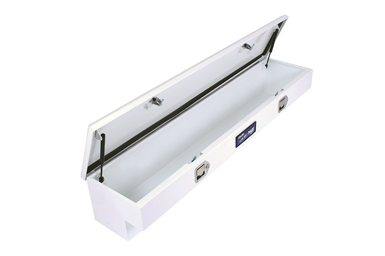 HARDware Series Side Mount Tool Box - White Steel