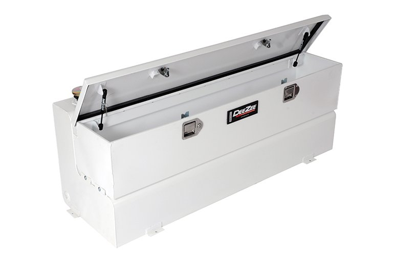 Combo Transfer Tank - White Steel