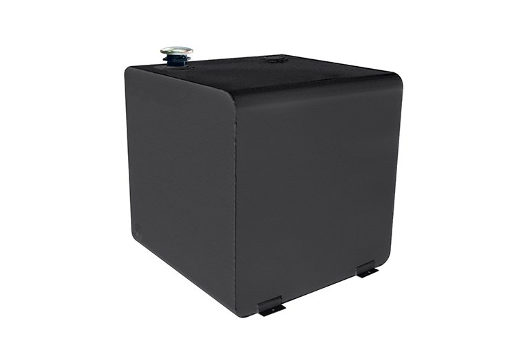 Square Transfer Tank - Black Steel