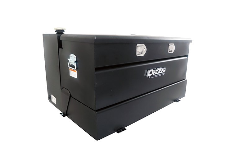 Combo Transfer Tank - Black Steel