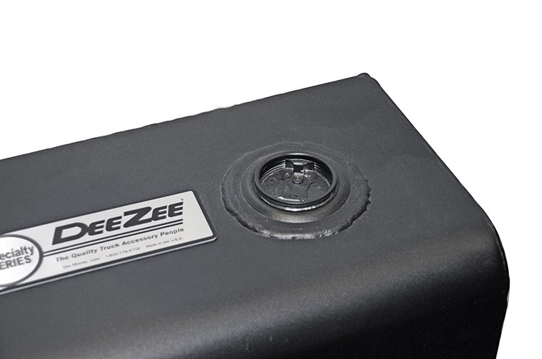 Rectangle Transfer Tank - Black Steel